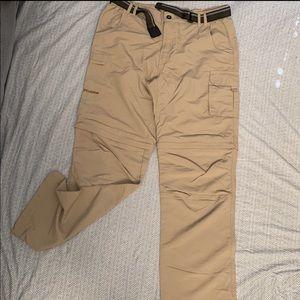 FLYGAGA Men's Outdoor Convertible Hiking Pants